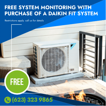 Free system monitoring with purchase of a daikin fit system